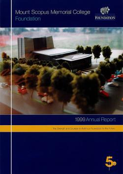 MSC 1999 Foundation Annual Report 1