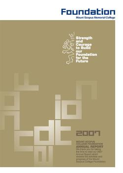 2007 annual report thumbnail